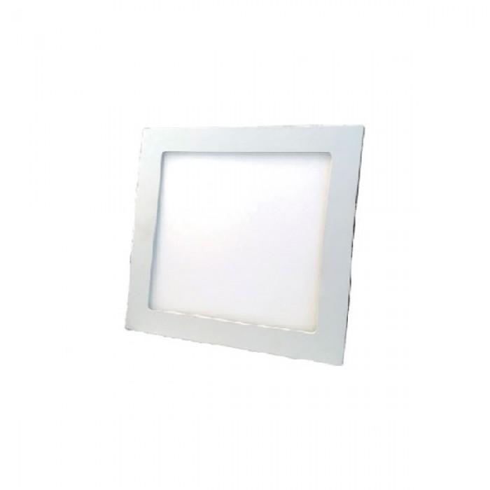 Downlight Mota blanco cuadrado 120x120mm 540Lm 6W - izq