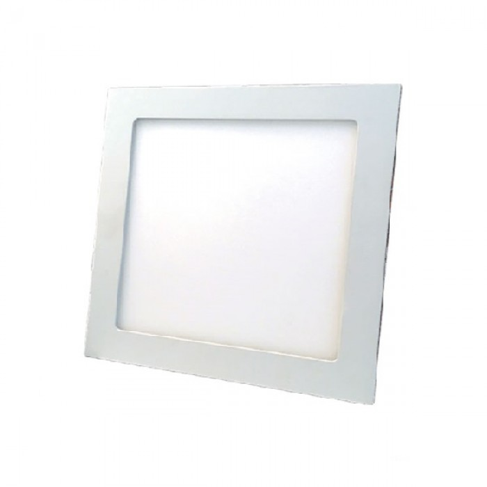 Downlight Mota blanco cuadrado 225x225mm 1620Lm 18W - izq