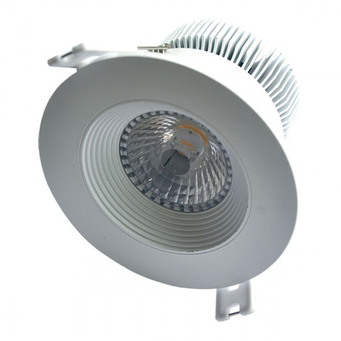 Downlight spot Blanco luz natural 95mm 1300Lm 12W